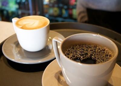 Coffee and Latté