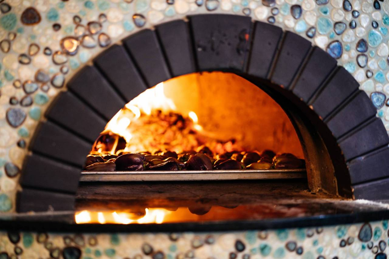 Our new pizza oven!